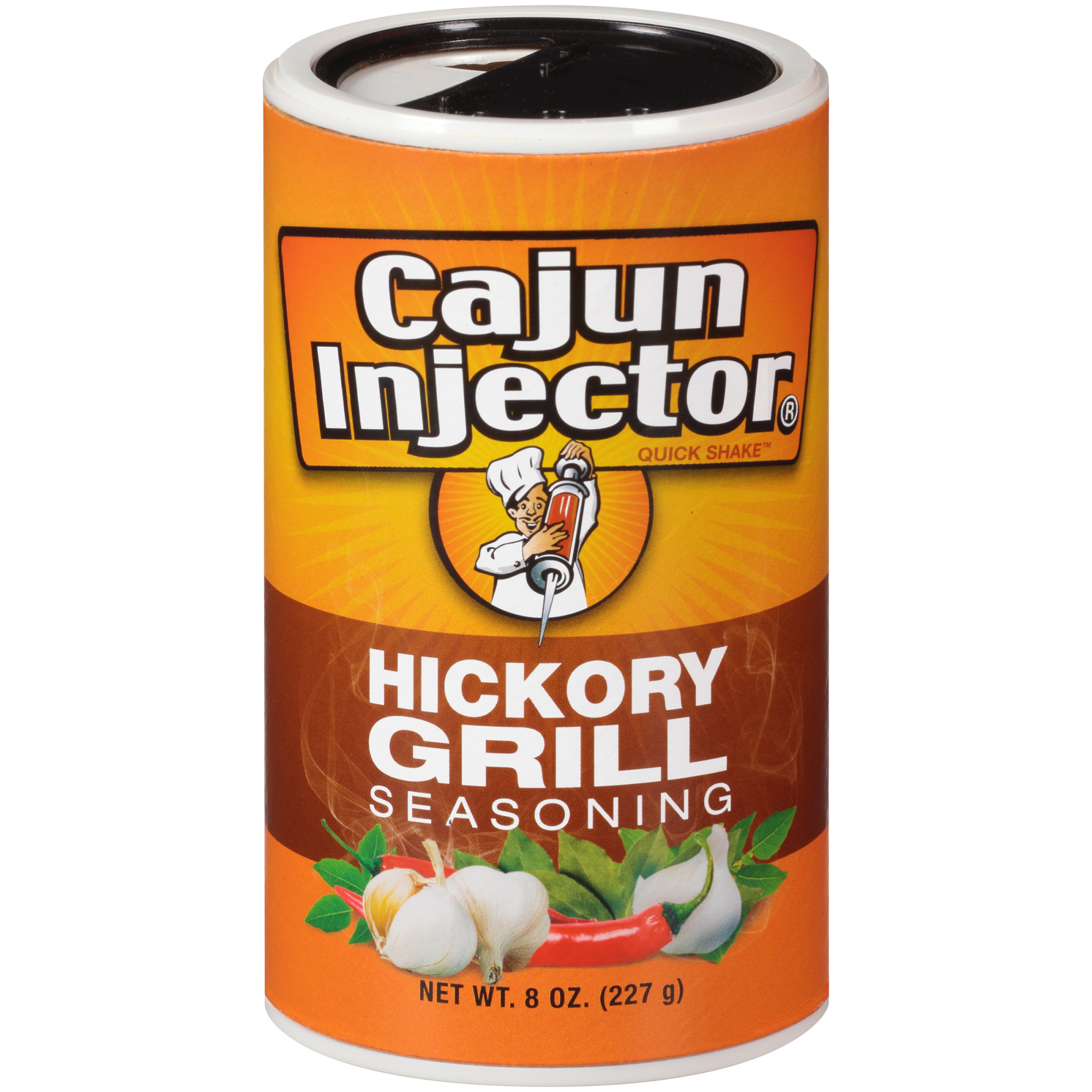 (2 Pack) Zatarain's Cajun Injectors Hickory Grill Seasoning, 8 oz