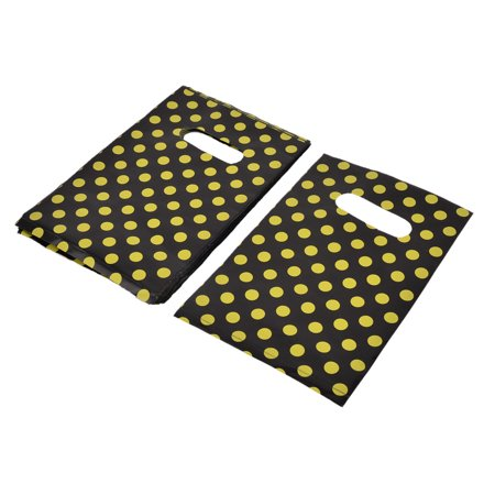Unique Bargains Shop Dots Handbag Carrier Container Holder Gift Shopping Bag 185 x 125mm 90pcs
