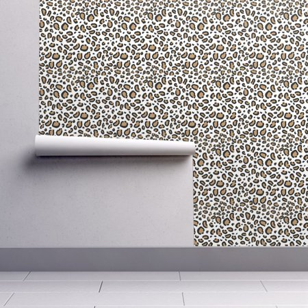 Peel-and-Stick Removable Wallpaper Cheetah Animal Print Cheetah Animal