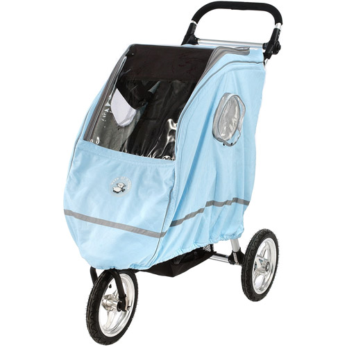 Warm as a Lamb - Single Stroller Winter Coat Cover, Blue