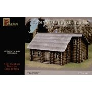 1/72 Russian 2-Story Log House (Snap)
