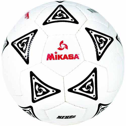 Mikasa La Estrella Polyurethane Official Soccer Ball, Size 5, White with Black