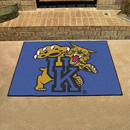 """Fan Mats 795 UK - University of Kentucky Wildcats 34"""" x 45"""" All-Star Series Area Rug / Mat"""