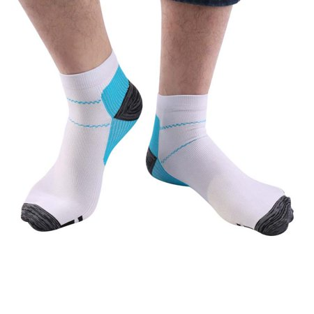 Compression Running Socks for Men & Women - Best Low Cut No Show Athletic Socks for Stamina Circulation & Recovery - Ultra Durable Ankle Socks for Runners, Plantar Fasciitis, Endurance & (Best Garmin For Running And Cycling)