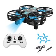 H823H Mini Drone for Kids, RC Nano Quadcopter w/Altitude Hold, Headless Mode, 3D Flips, One Key Return and Speed Adjustment