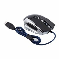 2.4GHZ LESHP Wireless Optical Game Mouse 1600 dpi 6 key Home Office Leisure JR