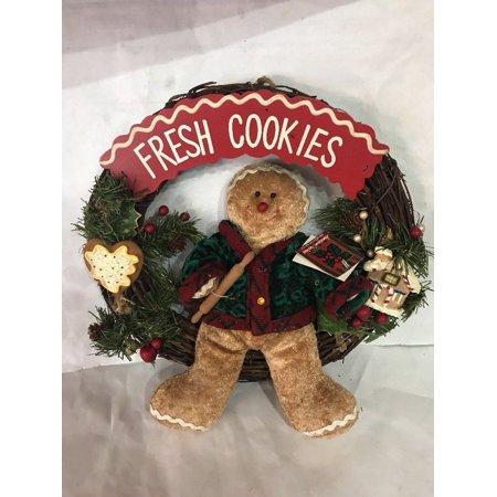 Fresh Wreath - Merry Christmas rustic twig 14
