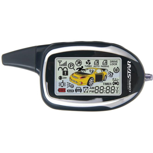 Compustar 2W9000-FM Replacement 2 way LCD Remote 2w900FMR-2nd (5P) for FT Series