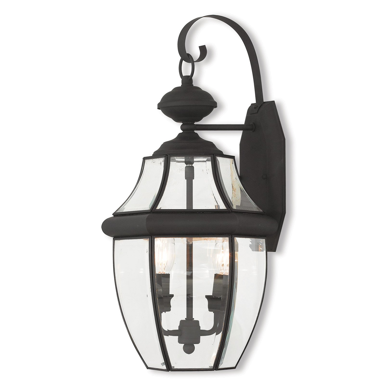 Livex Lighting Monterey 2 Light Outdoor Wall Lantern