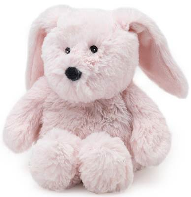 PINK BUNNY JUNIOR WARMIES Cozy Plush Heatable Lavender Scented Stuffed Animal](Pink Bunny Stuffed Animal)