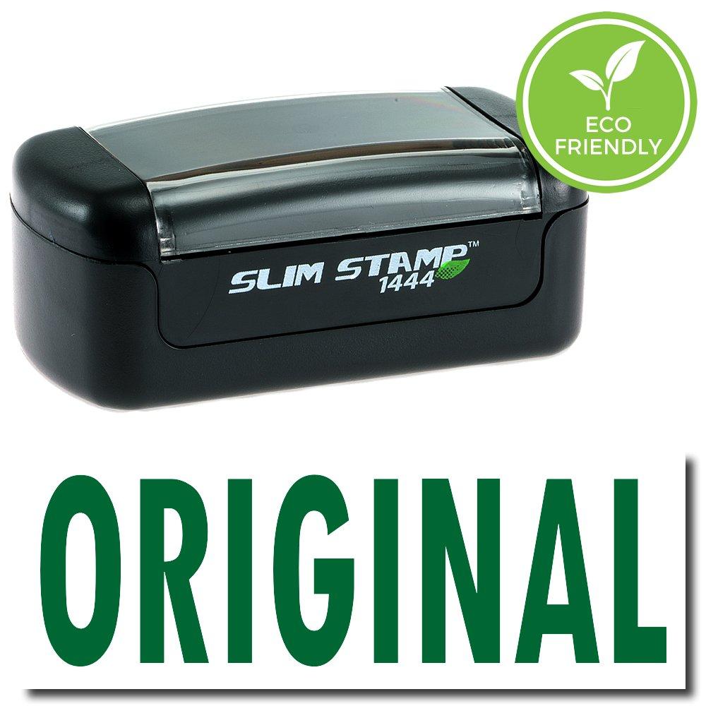 Slim Pre-Inked Original Stamp with Black Ink