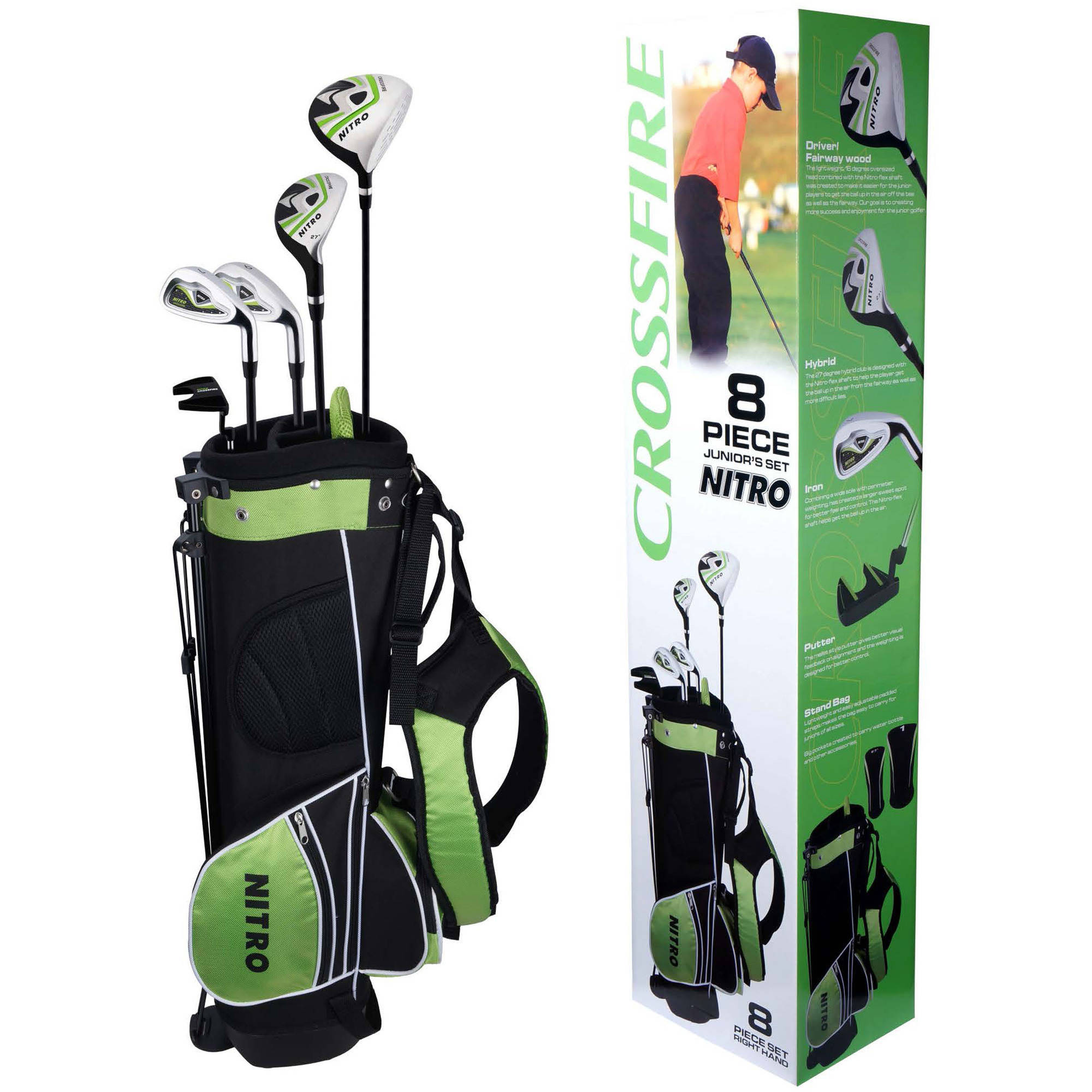 Nitro Golf Set, Child, 6-Piece