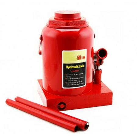 50 Ton Portable Hydraulic Bottle Car Jack 14