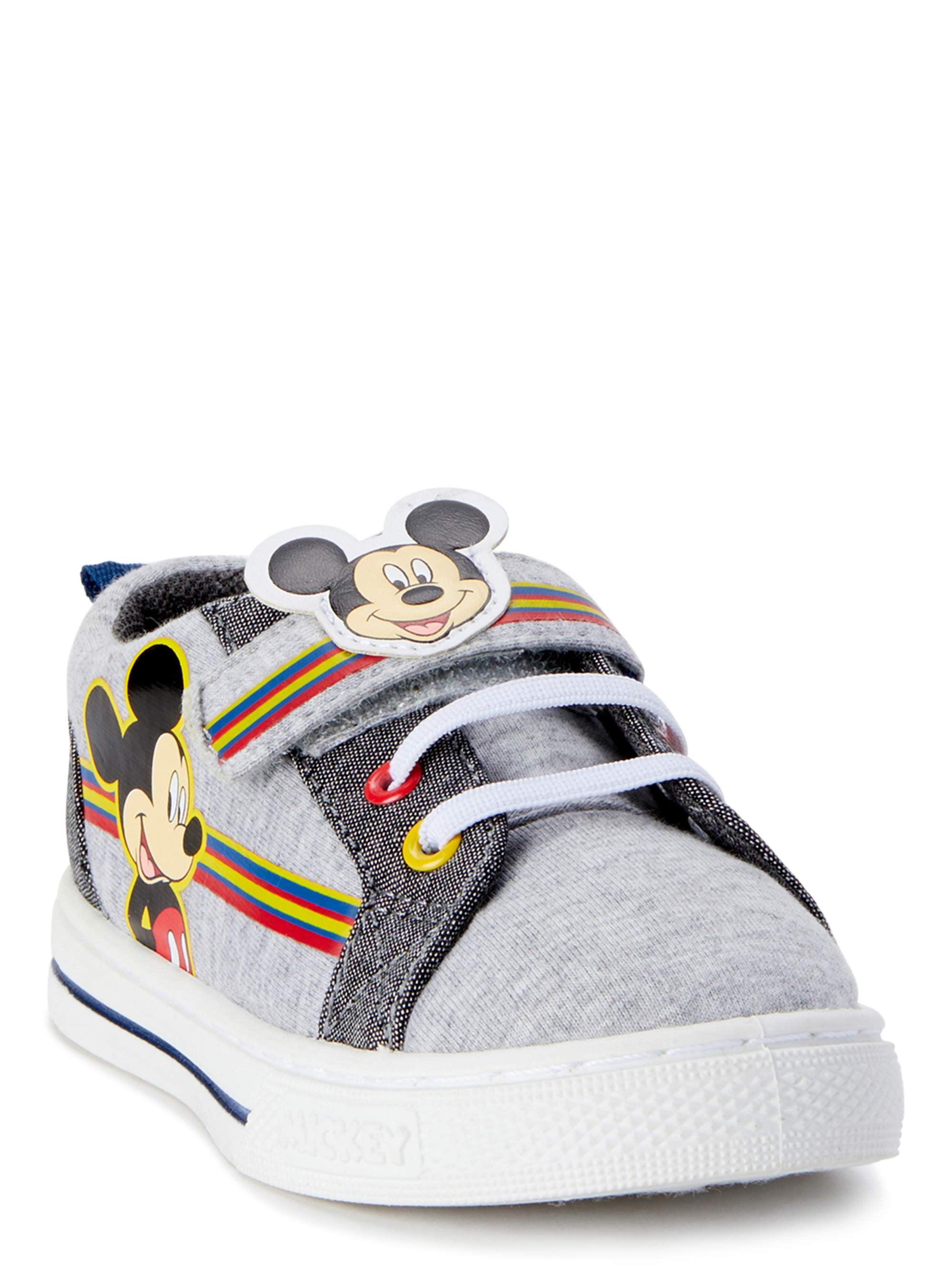Disney Mickey Mouse Casual Strap Shoe (Toddler Boys)
