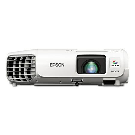 Epson Powerlite 97H Xga 3Lcd Projector  2700 Lumens  1024 X 768 Pixels  1 2X Zoom