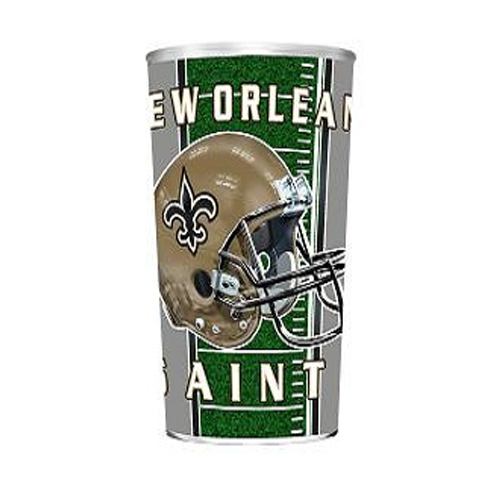 Majestic Plastic Cup 32-Ounce - New Orleans Saints