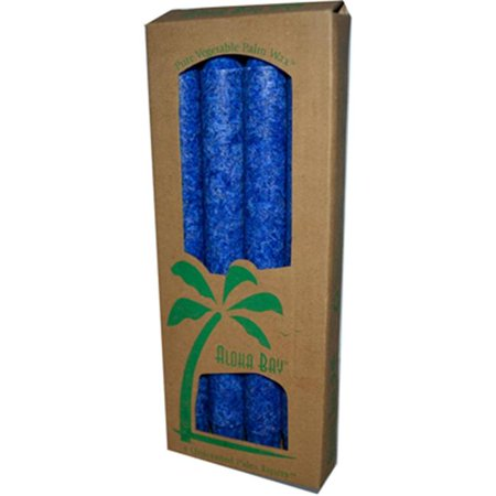Palm Tapers Royal Blue - 4 Candles
