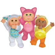 Cabbage Patch Kids Walmart Exclusive Cuties 3-Pack - Includes Three 9 inch Barnyard Friends Cuties