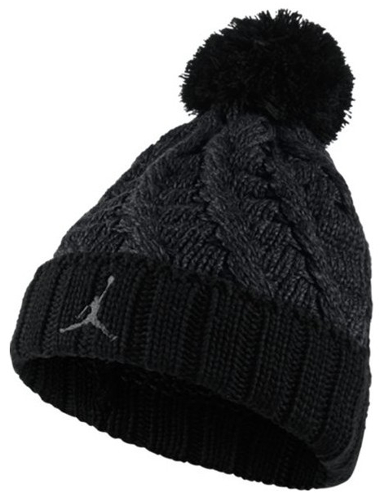 c917a573e2f reduced nike mens jordan jumpman cable beanie 706608 011 black anthracite  black a6295 42f3a