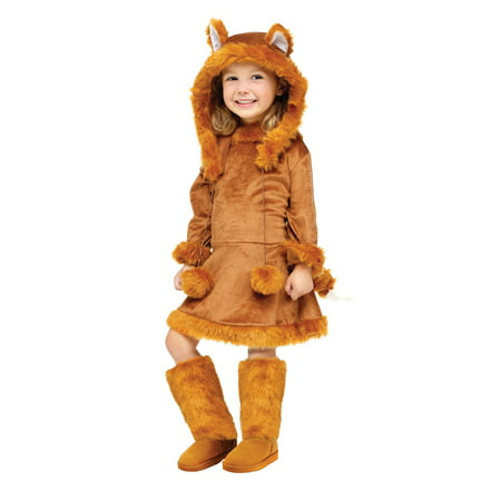 Fun World Costumes Baby Girl's Sweet Fox Toddler Costume, (The World's Best Halloween Costumes Ever)