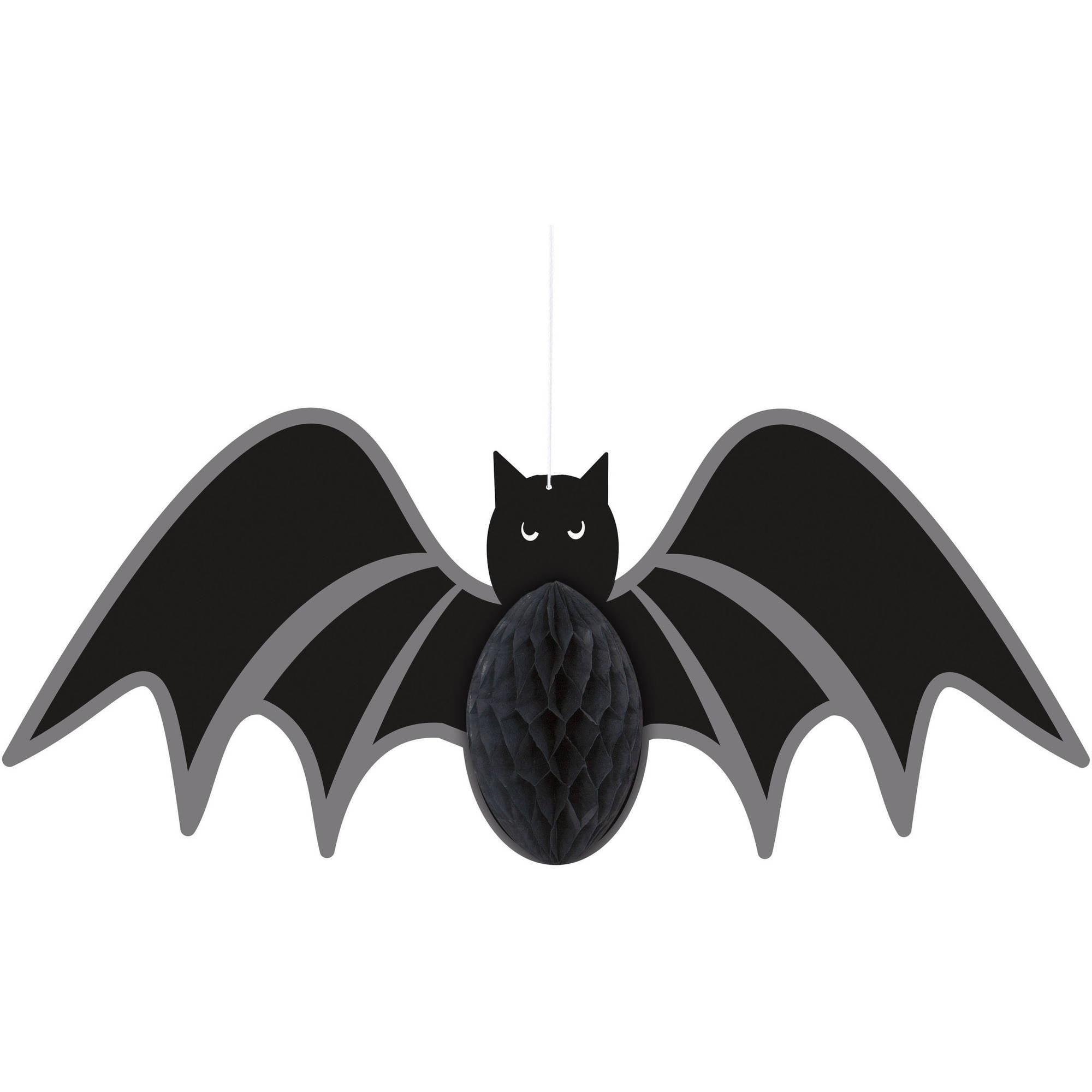 Bat Halloween Hanging Decoration, 14 in, 1ct