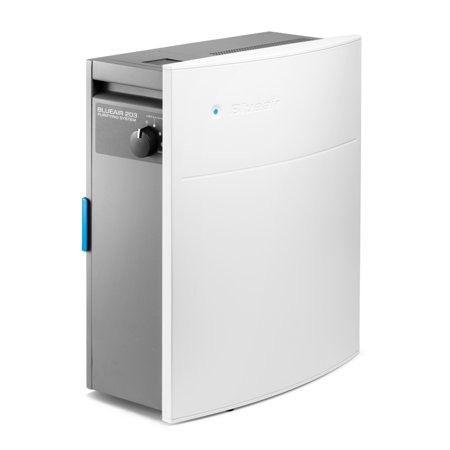 Blueair Classic 203 Slim HEPASilent Air Purification System, Allergy and Dust Reducer, Small Rooms 237 sq. ft., -