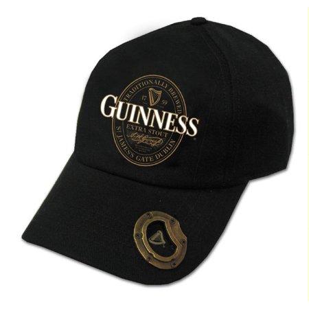 Guinness Official Merchandise Extra Stout Label Bottle Opener Cap