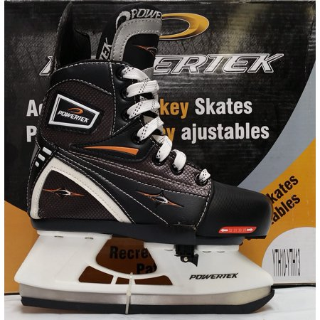 Powertek V3.0 Tek Adjustable Hockey Skate YTH10-YTH13 ()