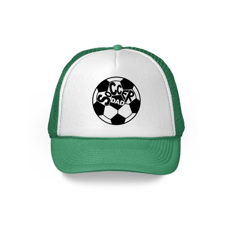 Awkward Styles Soccer Dad Hat Soccer Trucker Hat for Dad Cool Sports Gifts for Men Father's Day 2018 Gifts Soccer Gifts for Dad Soccer Fans Sports Dad Cap Father Gifts Funny Dad Hats with Sayings - Soccer Cap