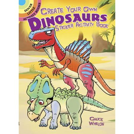 Create Your Own Dinosaurs Sticker Activity - Create Your Own Fairy