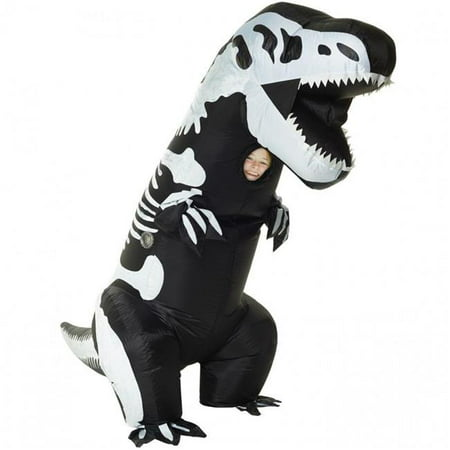 Skeleton T-Rex Inflatable Child - Kids T Rex Costume