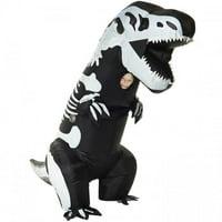 Skeleton T-Rex Inflatable Child Costume