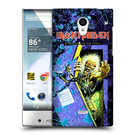 OFFICIAL IRON MAIDEN ALBUM COVERS HARD BACK CASE FOR SHARP PHONES