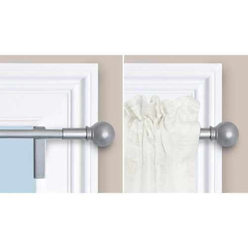 twist and shout smart curtain rod hardware image 3 of 4