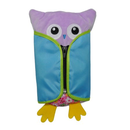 Novel Owl Plush Dress-up Toy Développement Intellectuel Early Educational Kindergarten Teaching Aid Set 4 PCS Per Set - image 1 de 9