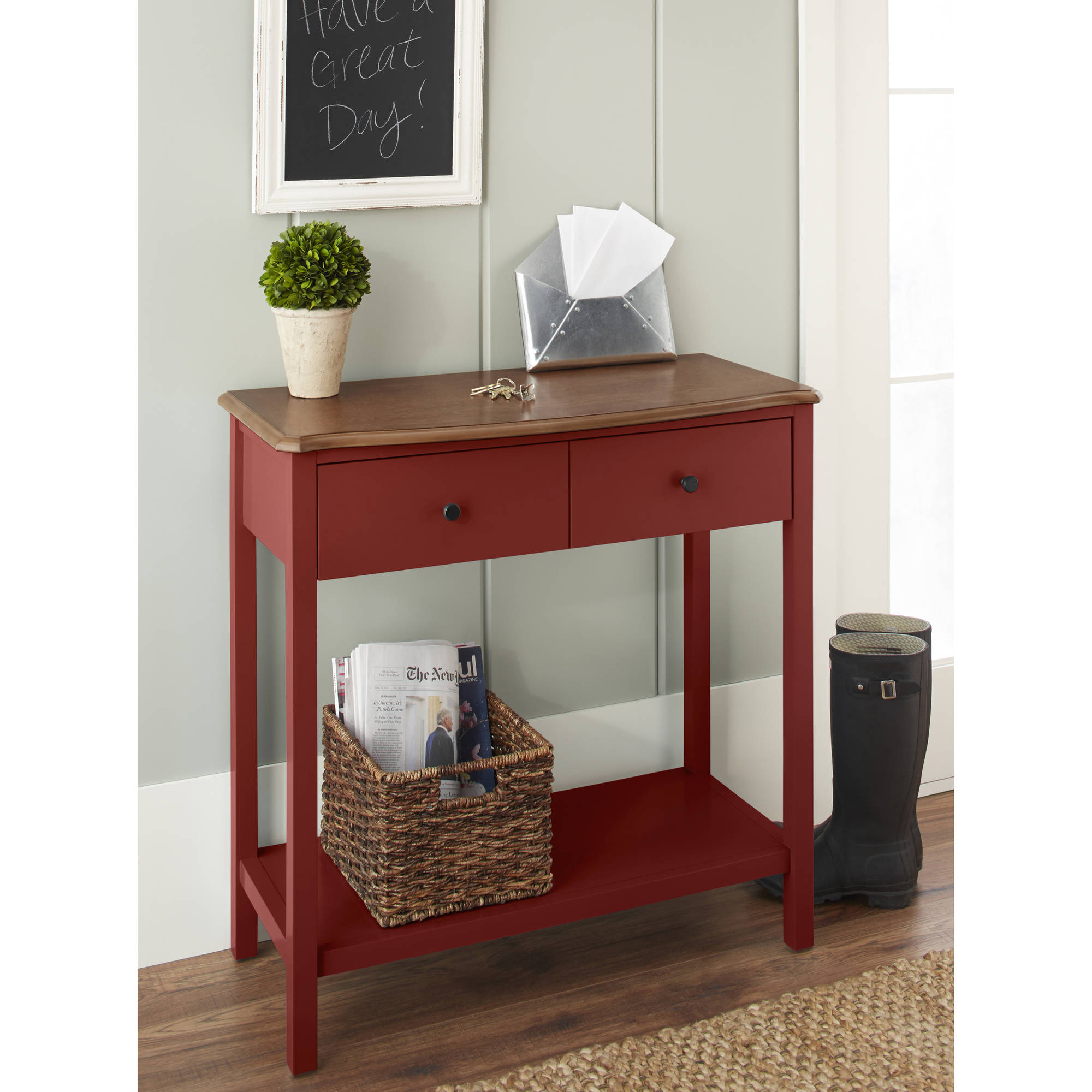 10 Spring Street Hinsdale Console Table, Multiple Colors