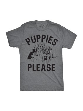 26efc55f Product Image Mens Puppies Please Tshirt Cute Adorable Dog Lover Tee For  Guys. Crazy Dog Funny T-Shirts. Product TitleMens Puppies ...