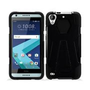 Protective Case for HTC Desire 530, Phone Case For HTC Desire 550 / 555, Hybrid Cover Case with Kickstand (Black)