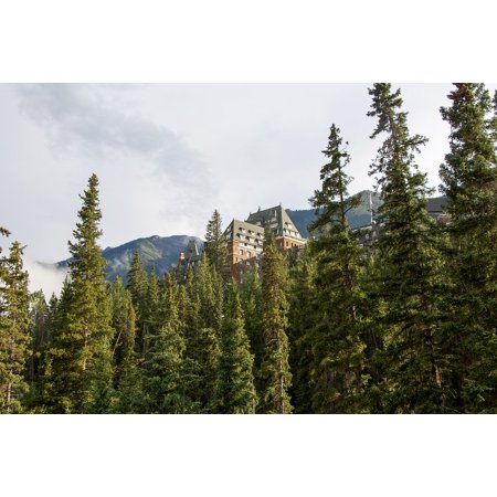 Laminated Poster Alberta Forest Banff Canada Banff Springs Hotel Poster Print 24 X 36