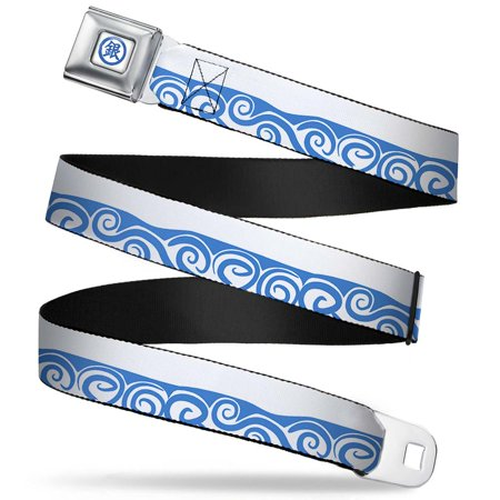 crunchyroll gintoki kanji full color white blue gintoki kimono waves white  seatbelt belt standard