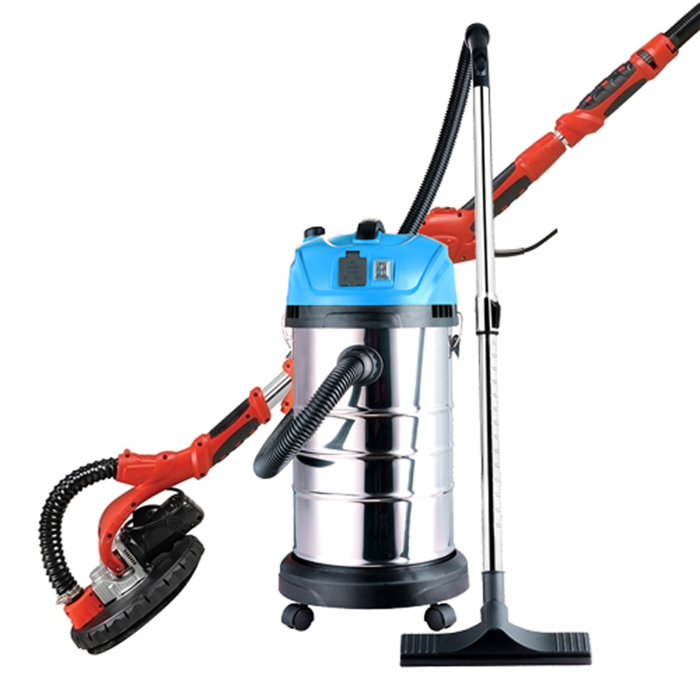 ALEKO Drywall Sander with Wet Dry Vacuum Cleaner - Combo Kit - 690L and DWV165