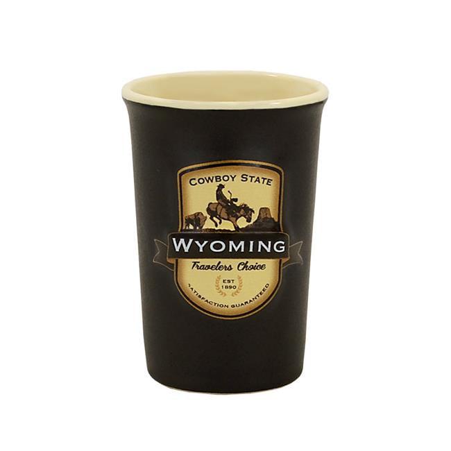 Americaware SESWYO01 Wyoming Emblem Shot Mug