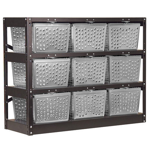 Salsbury Industries Basket Cubby 31'' Cube Unit