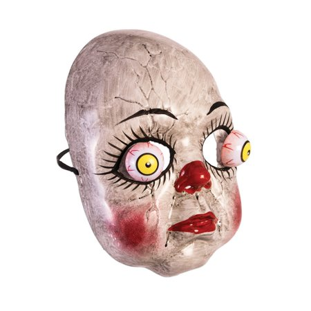 Google Eyes Doll Mask Halloween Costume Accessory](Broken Doll Halloween Mask)