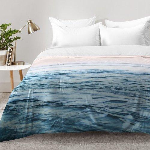 East Urban Home Pacific Ocean Waves Comforter Set