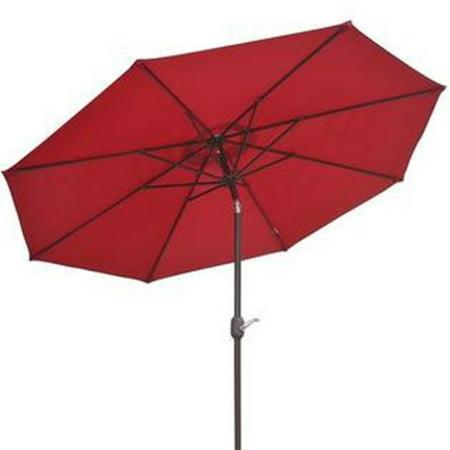 Sunrise 9 ft. Round Garden Patio Umbrella with Tilt &