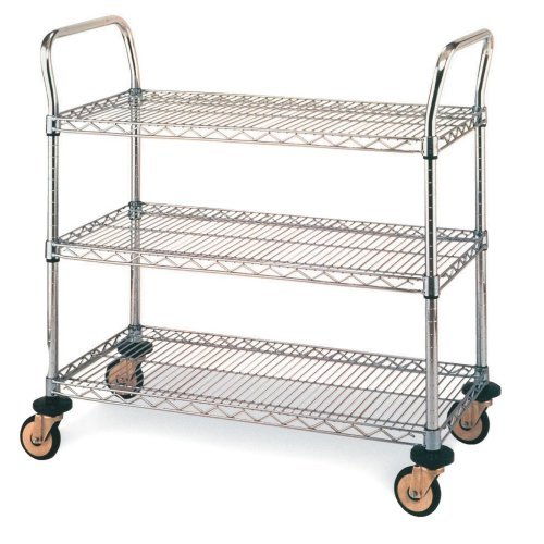 Cart-3 Shelves 18x30 Serving Cart