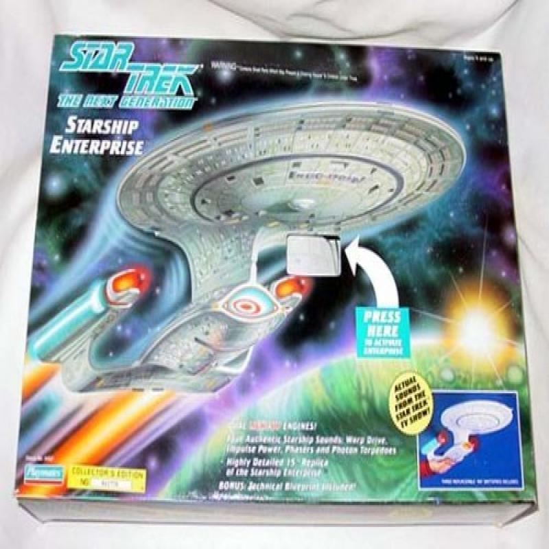 Star Trek The Next Generation Starship Enterprise Collector's Edition by