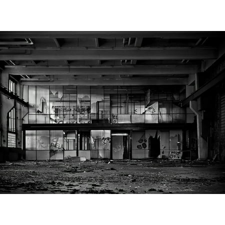 Industrial Buildings (LAMINATED POSTER Old Leave Industrial Building Factory Lost Places Poster Print 24 x)