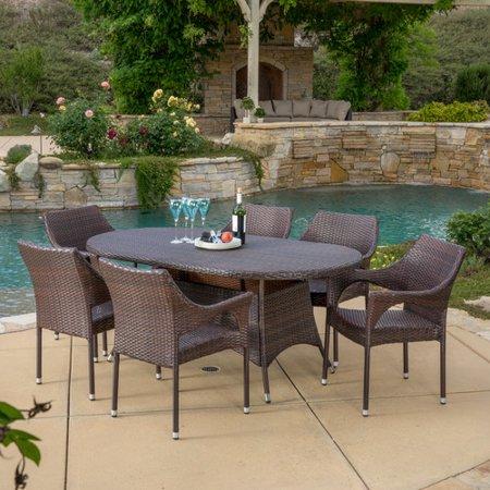 Home Loft Concepts Lennox 7 Piece Dining Set